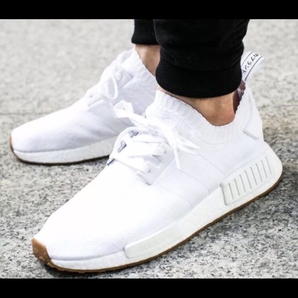 5cd090304 adidas Shoes - adidas NMD R1 PK Primeknit White Gum Pack SNEAKERS